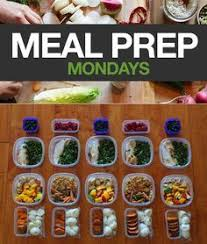 meal prep mondays week 2 healthy fit lost weight and meals