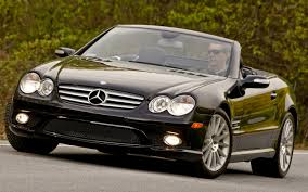 final current gen mercedes benz sl rolls off the line headed to