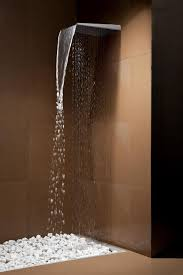 best rain shower heads for modern eco friendly bathrooms view in gallery rain shower head waterfall combo arethusa tender jpg