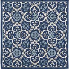 Square Indoor Outdoor Rugs Square Outdoor Rugs You Ll Wayfair