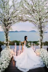 wedding arches sydney white and blush wedding at sri panwa phuket and bibi