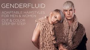 genderfluid short undercut hairstyles that are adaptable for men