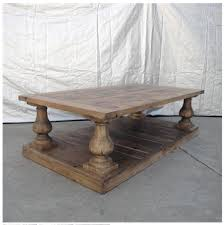 Balustrade Coffee Table Restoration Hardware S Balustrade Salvaged Wood Coffee Table