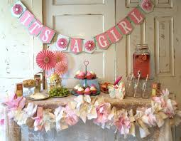girl themes for baby shower party decorating ideas