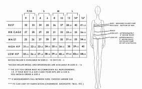 size chart for wedding dresses size chart miller