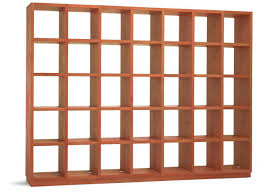 Solid Cherry Wood Bookcase Captivating Solid Wood Bookcase Cherry Wood Construction Natural