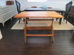 vintage wood drafting table best vintage drafting table turned dining dream book design image