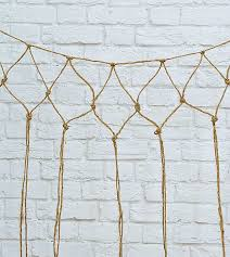 net decor how to make a decorative fishnet for your beachy gallery wall