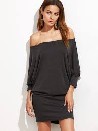 women off shoulder blouson dress ttppmfa ttppmfa 44 58