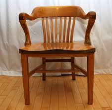 tribute 20th decor 1940 u0027s oak desk chair