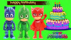 pj masks happy birthday song birthday party minion olaf