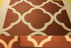 jen u0027s quatrefoil paint project s u0026 free printable stencil the