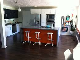mid century modern kitchen table built in sink drawer on concrete mid century modern kitchen table built in sink drawer on concrete floors wall mounted cabinets chic