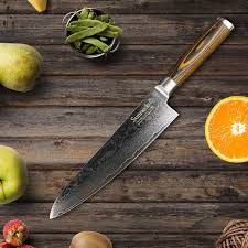 kitchen knives sunnecko 8 inch professional chef kitchen knife top quality