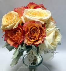 orange bouquets u2014 rose of sharon floral designs
