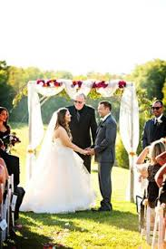 wedding arches canada outdoor wedding cere www mccormick weddings wedding