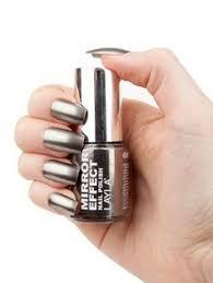 2017 fashion 2pc lot 6ml silver mirror effect metal gel nail