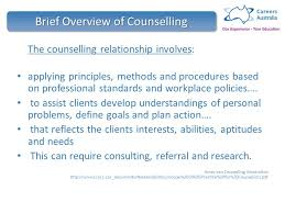 Counselling At Workplace Ppt 1 Introduction To Counselling Ppt