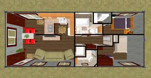container home floor plan 3d top view of our 640 sq ft daybreak floor plan using 2 x 40