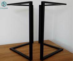 Flat Bar Table Legs Metal Table Legs Table Legs Industrial Table Legs Dining