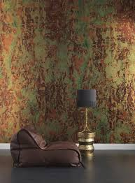 phc 02 spoiled copper metallic wallpaper by piet hein eek u2013 nlxl