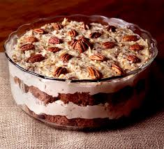 german chocolate cake trifle brownie bites blog