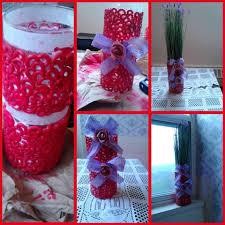 Decoration Vase 4 Glass Vase Decoration Diy Art U0026 Craft Youtube