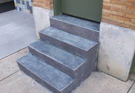 hartman concrete projects stamped concrete stairs