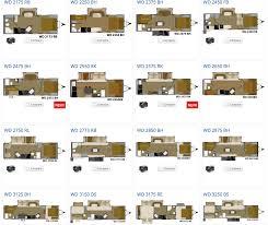 woodys trailer world cruiser prowler trailers floor plans crtable