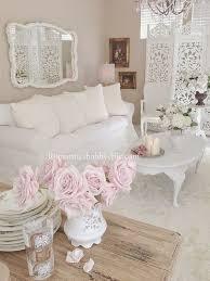 Shabby Chic Salon Furniture by Decoracion De Salones Estilo Shabby Chic En Blanco Hola Chicas