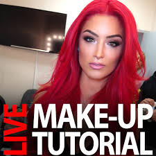 Natalie Meme - live make up hair demonstration recording 12 11 2014 natalie