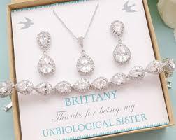 personalized wedding jewelry high quality wedding bridal bridesmaid jewelry by sweetmelodyshop