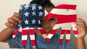 diy memorial day flag crafts for kids youtube