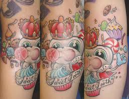 sweet tooth tattoo by slipslopslap on deviantart