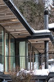 Modern Rustic Homes Villa Amazing Fresh Air And Snow In Modern Rustic Home Cabin