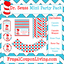 dr seuss party free dr seuss party pack printable