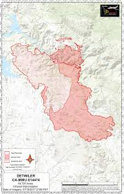 Wildfire Perimeter Map by Wednesday July 19 2017 Updates On Detwiler Wildfire In Mariposa