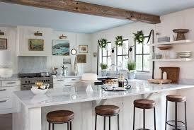 kitchen decorative ideas kitchen with modern themes walls photos simple blue green shelf