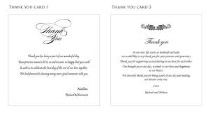 thank yous on wedding programs 18 best photo of wedding program thank you wording ideas diy