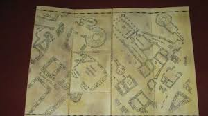 Map Of Harry Potter World by My Homemade Marauder U0027s Map Replica Youtube