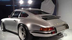 classic convertible porsche 964 porsche 911 remade by singer vehicle design