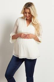 white flowy blouse white flowy chiffon maternity blouse