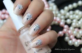 wedding nail designs with rhinestones nail art u0026 nail design
