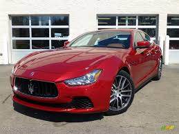 red maserati rosso energia red 2014 maserati ghibli s q4 exterior photo