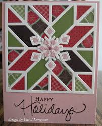 our little inspirations christmas quilt card cards quilt