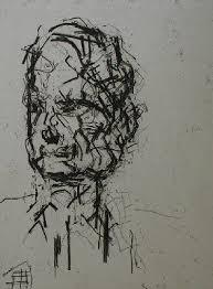 nicholas gallery u003e gallery u003e frank auerbach british 1931