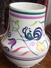 Poole Pottery Vase Patterns Birds Poole Pottery Vases Ebay