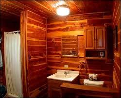 Log Cabin Bathroom Designs Design And Ideas Beach Cottage
