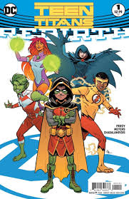 preview teen titans rebirth 1