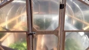 Plastic Front Door by How I Built Our Diy Hoop House Greenhouse Pt 2 Door U0026 Plastic
